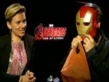 'Avengers' Stars Talk Special Effects, Merchandise