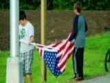 Proud American: Patriotic Boys Rescue American Flag