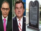 Okla. AG, State Representative On Ten Commandments Statue