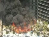 Large Fire At The Cosmopolitan Hotel In Las Vegas
