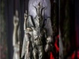Hundreds Gather For Unveiling Of Satanic Statue In Detroit