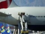 British Airways Plane Catches Fire