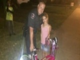 Officer Comes To Rescue After Girl's New Bike Gets Stolen