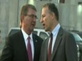 Secretary Of Defense Ash Carter Visits Baghdad
