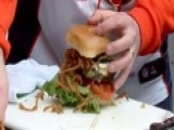 Carolina Vs. Denver: Best Burger Grill-off