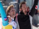 'Underdogs' Hugh Jackman And Taron Egerton Find Inspiration