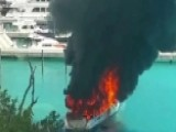 $2.5 Million Yacht Engulfed By Flames In Virgin Islands