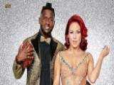 'DWTS' Star Sharna Burgess Flashes Live TV