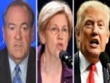 Huckabee Reacts To Trump's Campaign Fight With Sen. Warren