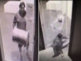 'Idiot' Thief Wanted After Bumbling Break-in Caught On Tape