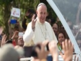 Pope Francis Tells Kids To Get Off The Sofas