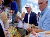 Trump Visits Victims Of Louisiana Floods