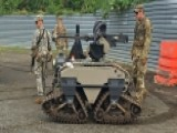 Self-driving Car? How About A Self-driving Machine Gun