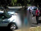 'Don't Shoot Him!' Keith Scott's Wife Films Police Shooting