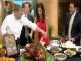 Preparing A Thanksgiving Day Feast With Delmonico's