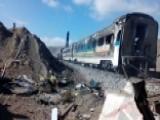 Dozens Dead After Deadly Train Crash In Iran