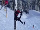 'Better Hold On Tight': Man Dangling From Ski Lift Rescued