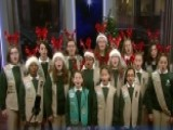 Girl Scouts Of Nassau County Sing 'Silent Night'