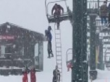 'Good Job, Guys!' Ski Patrol Lifts Dangling Boy To Safety