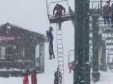'Good Job, Guys!' Ski Patrol Lifts Dangling Boy To Safety