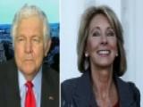 'Blob' Buster? Bennett: Betsy DeVos Will Target Bureaucracy