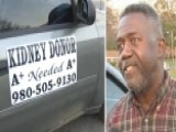Veteran Turns Car Into Ad For Kidney Donor