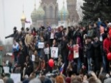 Rare Protests Across Russia Rattle The Kremlin