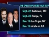 'The Spin Stops Here' Tour 2017