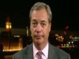 Farage: Populism Is Still Growing In Europe