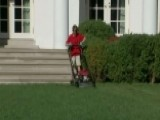 11-year-old Frank Describes Mowing The White House Lawn