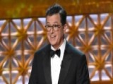 Stephen Colbert's Political Emmy Monologue Hits Trump
