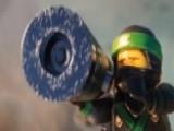 'The Lego Ninjago Movie' Stars Show Off Lego-building Skills