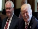 'Fake News!' Trump Tweets Secretary Tillerson Isn't Leaving