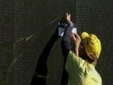 'Celebration Of Service' Held At Vietnam Veterans Memorial