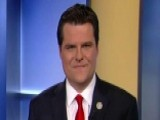 Rep. Gaetz Speaks Out About Investigation Double Standards
