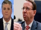 Hannity: Rosenstein Pretends Not To See Evidence Of Bias