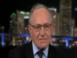 Dershowitz Calls For Rosenstein To Recuse Himself