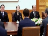 Kim Jong Un's Sister Meets With South Korean President