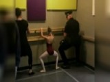 Cop Dad Dances With His Ballerina Daughter