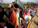 Desperate Venezuelans Emigrating As Country Near Collapse