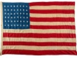 100-year-old US Flag Made For WWI Soldiers Returns Home
