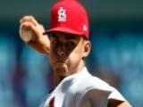 MLB: St. Louis Cardinals Pitcher Jordan Hicks Throws 105 Mph