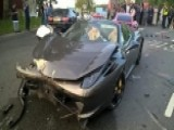 Wrecked $250,000 Ferrari Found Without A Driver