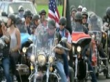 Motorcyclists Gather In DC For The Rolling Thunder Ride