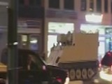 Police Chase Stolen Armored Personnel Carrier In Virginia