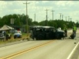 12 Immigrants Ejected From Car After High Speed Crash
