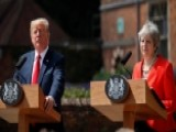'Fake News': Trump Says The Sun Left Out Praise For May