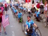 15th Annual Soldier Ride Takes Off From Fox News HQ In NYC
