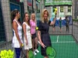 'Fox & Friends' Warms Up For The US Open