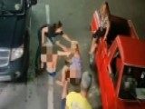 11-year-old Attacked By Stranger In Wild Gas Station Brawl